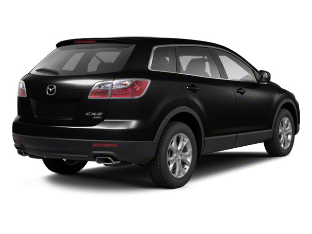 Brilliant Black 2010 Mazda CX-9 Pictures CX-9 Utility 4D Touring AWD photos rear view