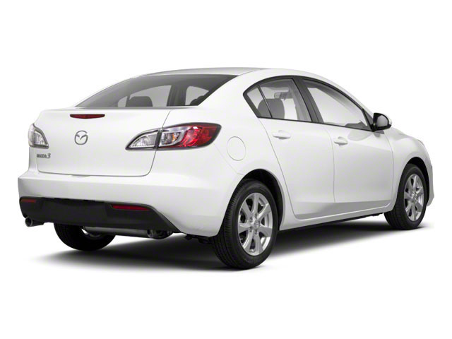 Crystal White Pearl Mica 2010 Mazda Mazda3 Pictures Mazda3 Sedan 4D s photos rear view