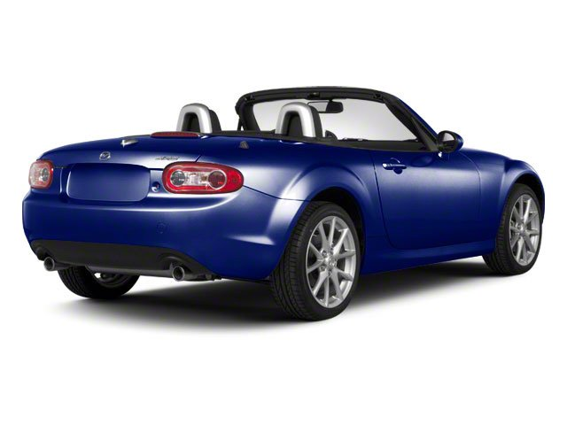Stormy Blue Mica 2010 Mazda MX-5 Miata Pictures MX-5 Miata Convertible 2D GT photos rear view