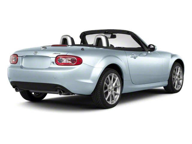 Liquid Silver Metallic 2010 Mazda MX-5 Miata Pictures MX-5 Miata Convertible 2D Sport photos rear view
