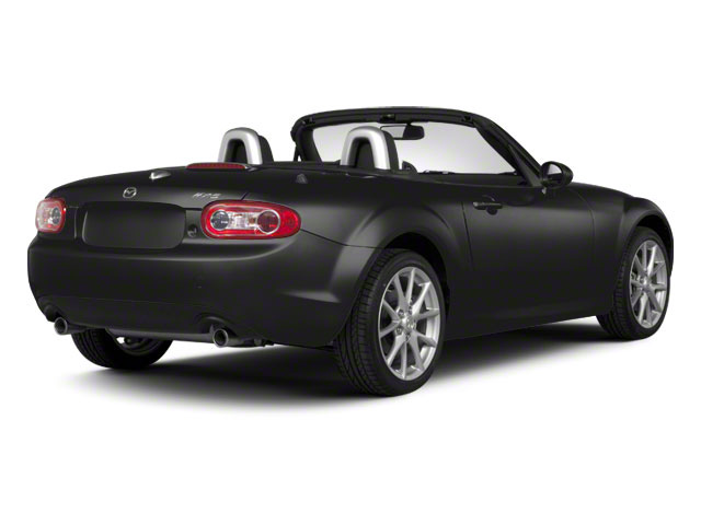 Brilliant Black Clearcoat 2010 Mazda MX-5 Miata Pictures MX-5 Miata Convertible 2D GT photos rear view