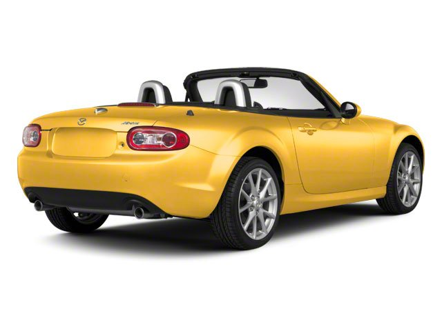 Competition Yellow 2010 Mazda MX-5 Miata Pictures MX-5 Miata Convertible 2D GT photos rear view