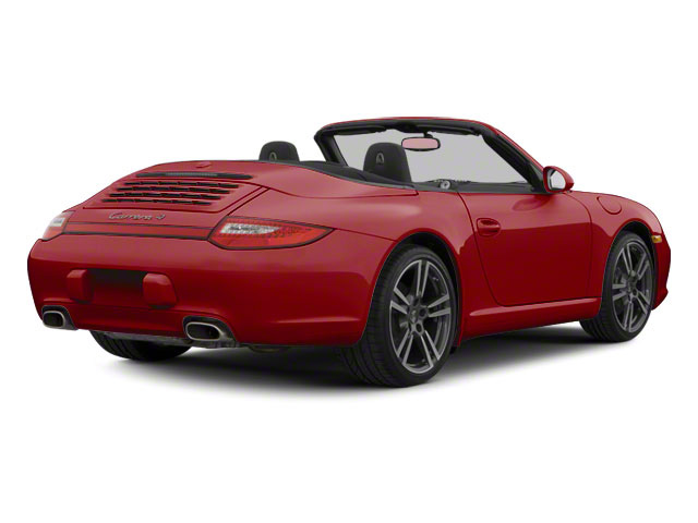 Ruby Red Metallic 2010 Porsche 911 Pictures 911 Cabriolet 2D 4 AWD photos rear view