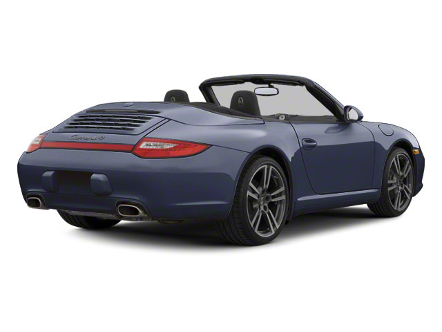 Dark Blue Metallic 2010 Porsche 911 Pictures 911 Cabriolet 2D Turbo AWD photos rear view