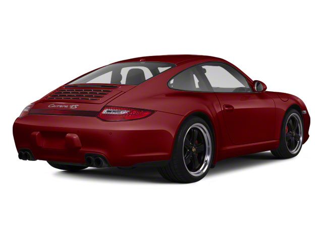 Ruby Red Metallic 2010 Porsche 911 Pictures 911 Coupe 2D 4S AWD photos rear view