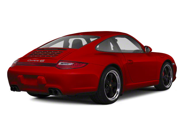 Guards Red 2010 Porsche 911 Pictures 911 Coupe 2D 4S AWD photos rear view