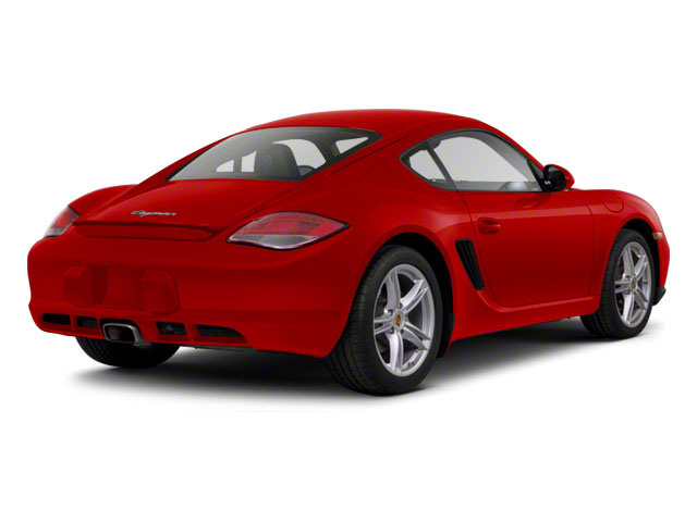 Guards Red 2010 Porsche Cayman Pictures Cayman Coupe 2D photos rear view