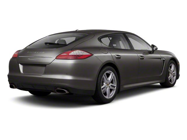 Carbon Grey Metallic 2010 Porsche Panamera Pictures Panamera Hatchback 4D Turbo AWD photos rear view