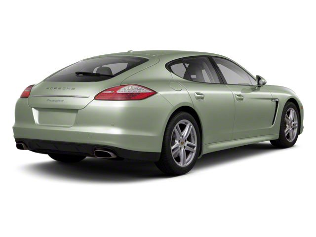 Crystal Green Metallic 2010 Porsche Panamera Pictures Panamera Hatchback 4D Turbo AWD photos rear view