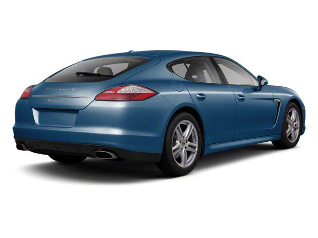 Aqua Blue Metallic 2010 Porsche Panamera Pictures Panamera Hatchback 4D Turbo AWD photos rear view