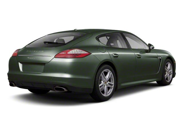 Jet Green Metallic 2010 Porsche Panamera Pictures Panamera Hatchback 4D Turbo AWD photos rear view