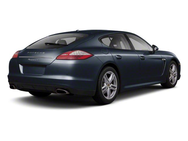 Dark Blue Metallic 2010 Porsche Panamera Pictures Panamera Hatchback 4D Turbo AWD photos rear view