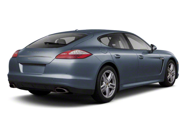 Yachting Blue Metallic 2010 Porsche Panamera Pictures Panamera Hatchback 4D Turbo AWD photos rear view