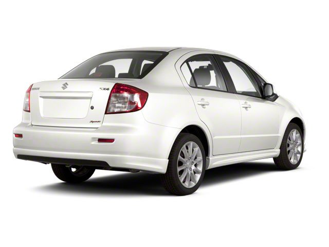 White Water Metallic 2010 Suzuki SX4 Pictures SX4 Sedan 4D photos rear view