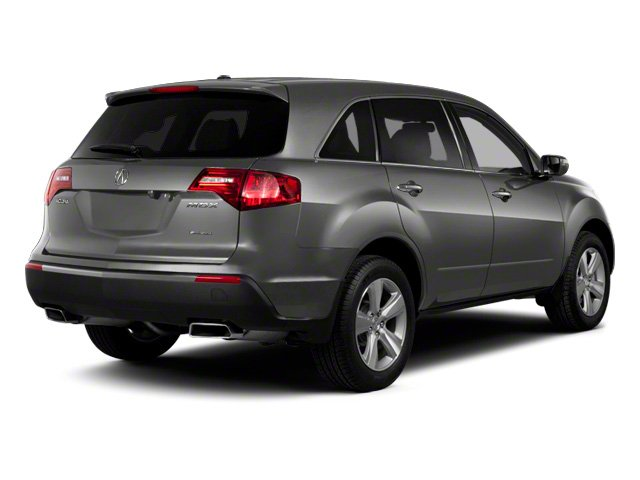 Polished Metal Metallic 2011 Acura MDX Pictures MDX Utility 4D Technology AWD photos rear view