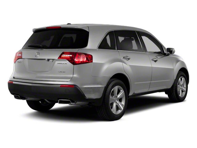 Palladium Metallic 2011 Acura MDX Pictures MDX Utility 4D Advance DVD AWD photos rear view