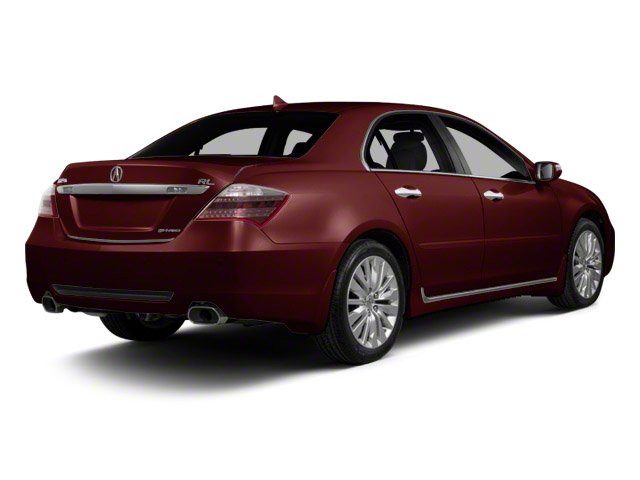 Pomegranate Pearl 2011 Acura RL Pictures RL Sedan 4D AWD photos rear view