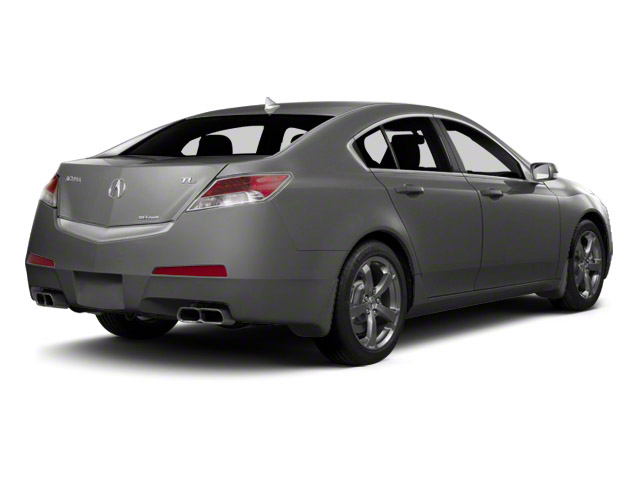 Polished Metal Metallic 2011 Acura TL Pictures TL Sedan 4D photos rear view
