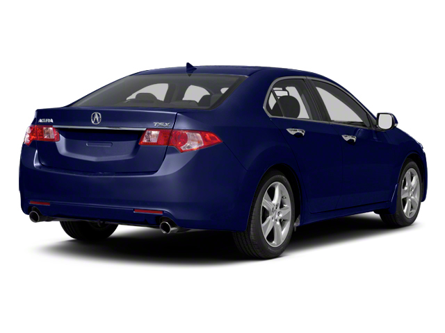 Vortex Blue Pearl 2011 Acura TSX Pictures TSX Sedan 4D Technology photos rear view
