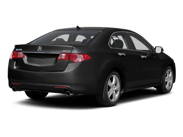 Crystal Black Pearl 2011 Acura TSX Pictures TSX Sedan 4D Technology photos rear view