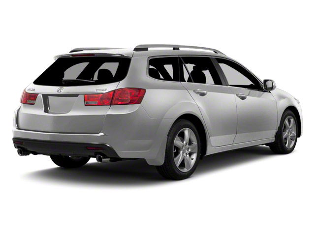 Forged Silver Metallic 2011 Acura TSX Sport Wagon Pictures TSX Sport Wagon 4D Technology photos rear view