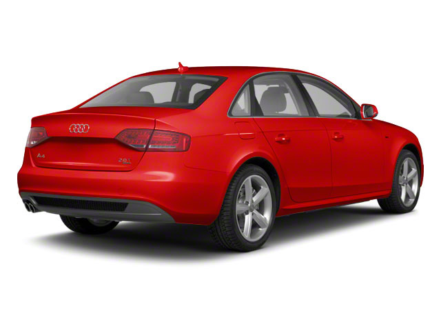 Brilliant Red 2011 Audi A4 Pictures A4 Sedan 4D 2.0T Quattro photos rear view