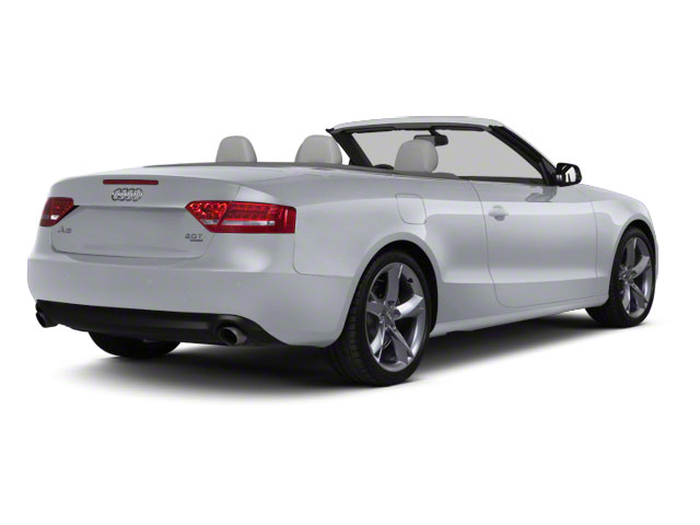 Quartz Gray Metallic 2011 Audi A5 Pictures A5 Convertible 2D Prestige photos rear view