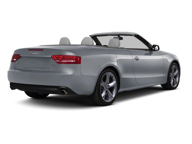 Meteor Gray Pearl 2011 Audi A5 Pictures A5 Convertible 2D Prestige photos rear view