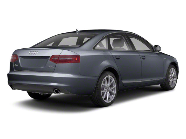 Aventurine Blue Pearl 2011 Audi A6 Pictures A6 Sedan 4D 3.0T Quattro Premium Plus photos rear view