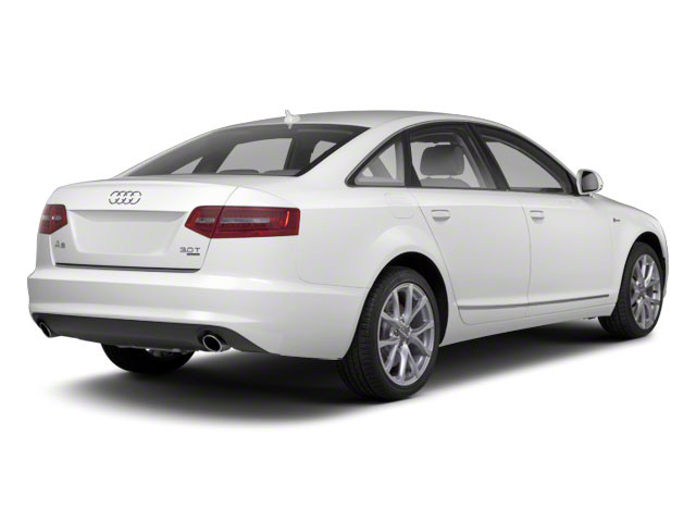 Ibis White 2011 Audi A6 Pictures A6 Sedan 4D 3.0T Quattro Premium Plus photos rear view