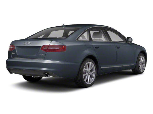Oyster Grey Metallic 2011 Audi A6 Pictures A6 Sedan 4D 3.0T Quattro Premium Plus photos rear view