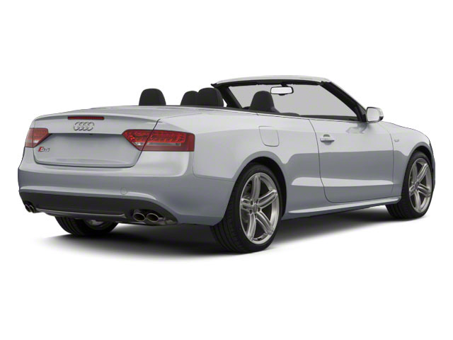 Ice Silver Metallic 2011 Audi S5 Pictures S5 Convertible 2D Quattro photos rear view