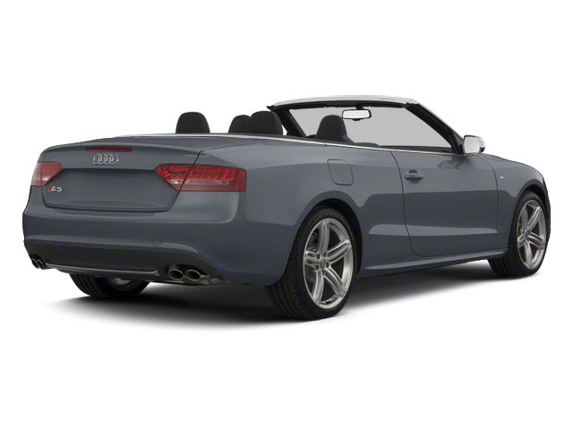Meteor Gray Pearl 2011 Audi S5 Pictures S5 Convertible 2D Quattro photos rear view