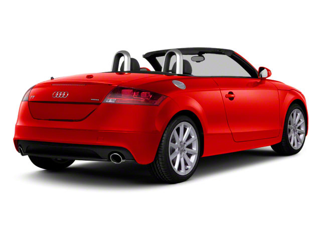 Volcano Red Metallic 2011 Audi TT Pictures TT Roadster 2D Quattro Prestige photos rear view