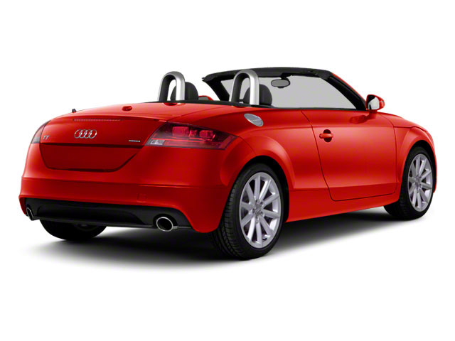 Misano Red Pearl 2011 Audi TT Pictures TT Roadster 2D Quattro Prestige photos rear view