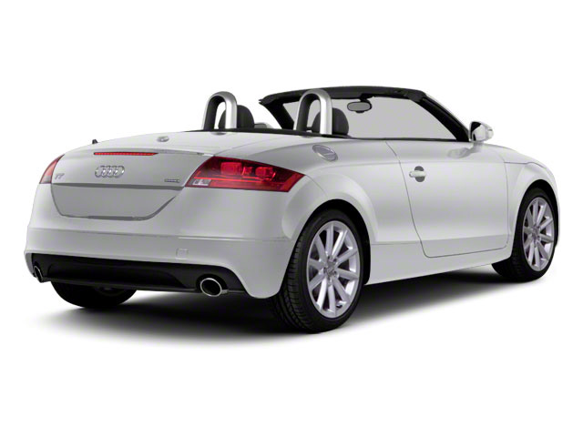 Ice Silver Metallic 2011 Audi TT Pictures TT Roadster 2D Quattro Prestige photos rear view