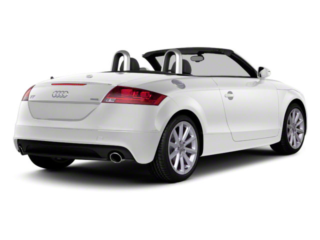 Ibis White 2011 Audi TT Pictures TT Roadster 2D Quattro Prestige photos rear view