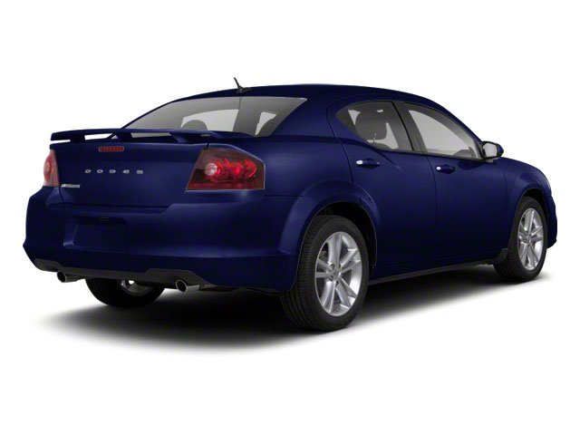 Blackberry Pearl 2011 Dodge Avenger Pictures Avenger Sedan 4D Mainstreet photos rear view