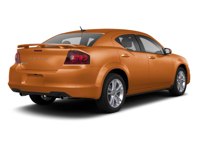 Mango Tango Pearl 2011 Dodge Avenger Pictures Avenger Sedan 4D Mainstreet photos rear view