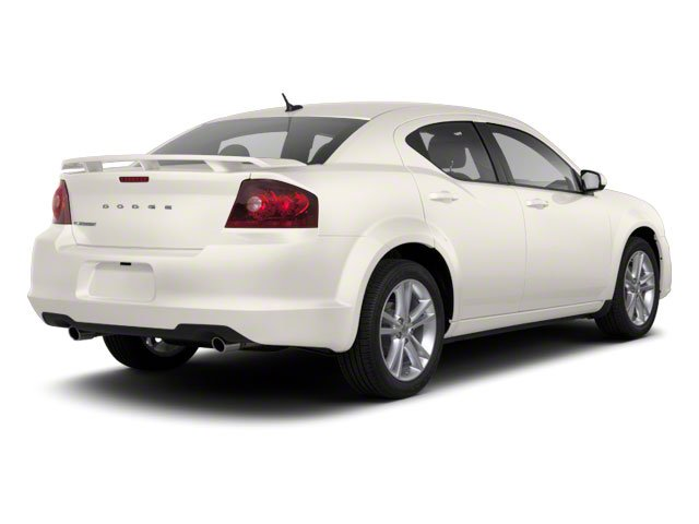 Stone White 2011 Dodge Avenger Pictures Avenger Sedan 4D Mainstreet photos rear view
