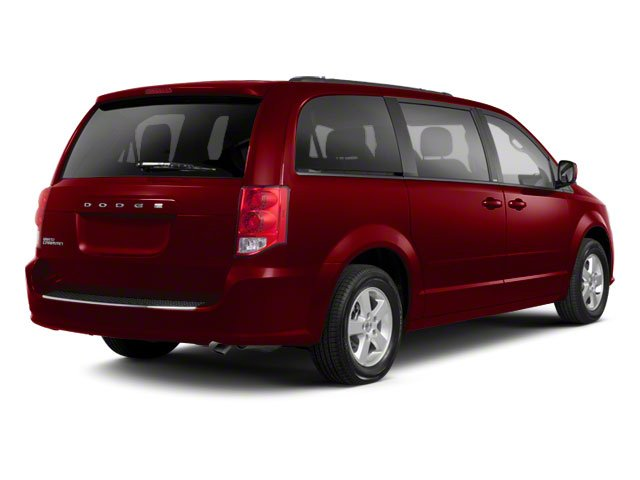 Deep Cherry Red Crystal Pearl 2011 Dodge Grand Caravan Pictures Grand Caravan Grand Caravan Express photos rear view