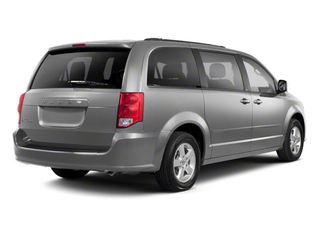Bright Silver Metallic 2011 Dodge Grand Caravan Pictures Grand Caravan Grand Caravan R/T photos rear view