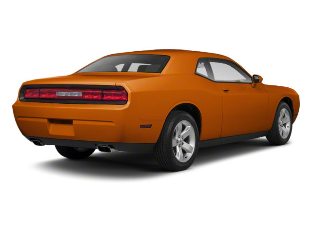 Toxic Orange Pearl 2011 Dodge Challenger Pictures Challenger Coupe 2D SRT-8 photos rear view