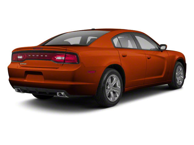 Toxic Orange Pearl 2011 Dodge Charger Pictures Charger Sedan 4D Police photos rear view