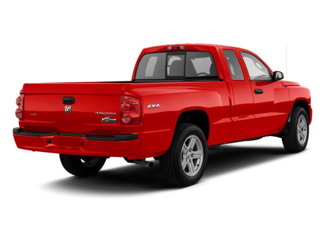 Flame Red 2011 Ram Truck Dakota Pictures Dakota Extended Cab Bighorn/Lone Star photos rear view