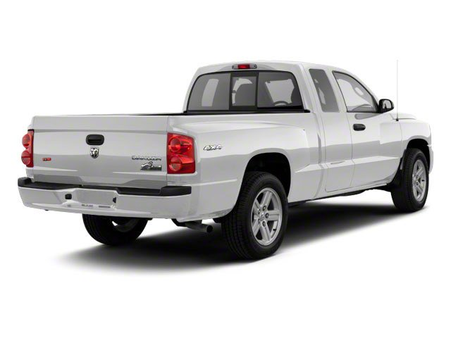 Bright Silver Metallic 2011 Ram Truck Dakota Pictures Dakota Extended Cab Bighorn/Lone Star photos rear view