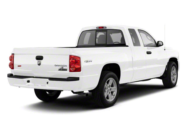 Bright White 2011 Ram Truck Dakota Pictures Dakota Extended Cab Bighorn/Lone Star photos rear view