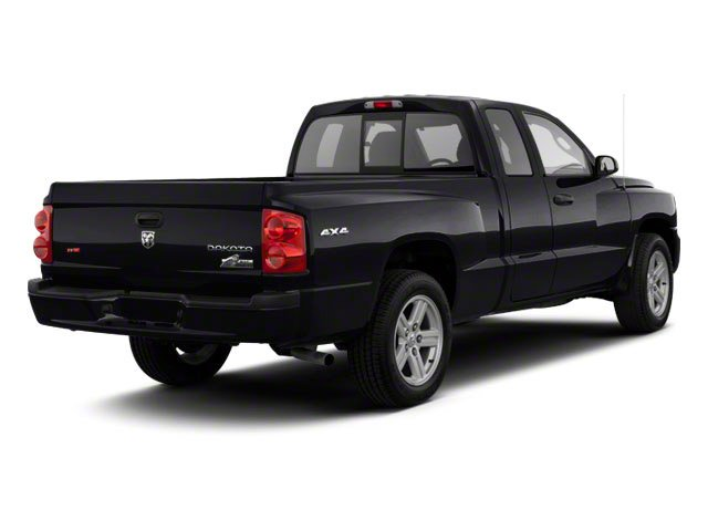 Brilliant Black Crystal Pearl 2011 Ram Truck Dakota Pictures Dakota Extended Cab Bighorn/Lone Star photos rear view
