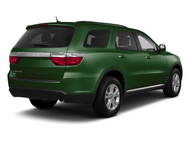 Natural Green Pearl 2011 Dodge Durango Pictures Durango Utility 4D Crew 2WD photos rear view