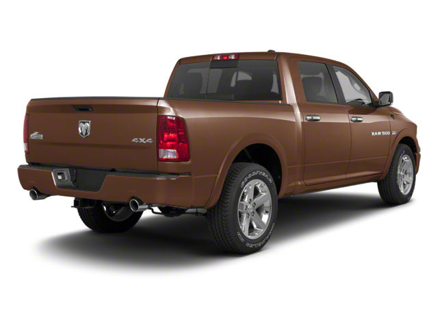 Saddle Brown Pearl 2011 Ram Truck 1500 Pictures 1500 Crew Cab SLT 4WD photos rear view